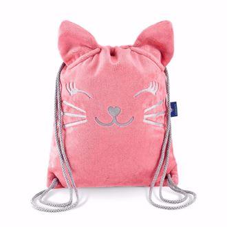 Obrázok z Detský batôžtek Mačička - Ružová
