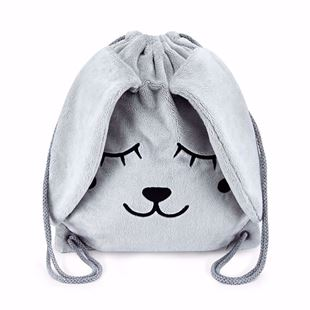 Obrázok Detský batôžtek Zajíček - Šedá