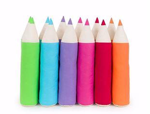 Obrázok Vankúšik Pastelka - rôzne farby