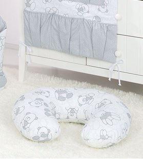 Obrázok Dojčiace vankúš Méďové LUX - rôzne farby