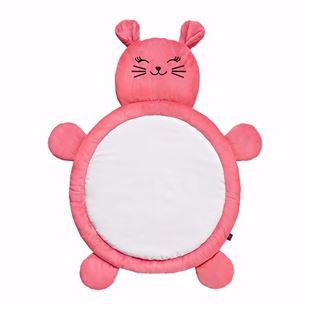 Obrázok Hracia deka Mačička - Ružová