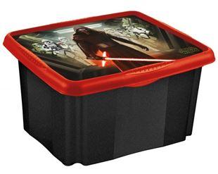 Obrázok Box na hračky Star Wars 24 l - čierny