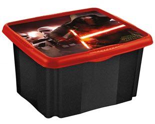 Obrázok Box na hračky Star Wars 45 l - čierny