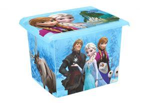 Obrázok Box na hračky, dekoračné Frozen 20,5 l