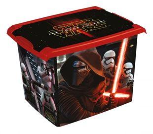Obrázok Box na hračky, dekoračné Star Wars 20,5 l - čierny