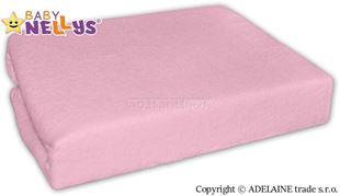 Obrázok Nepremokavé prestieradlo 120x60cm - sv. ružové