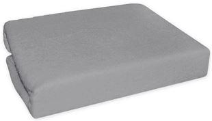 Obrázok Nepremokavé froté plachta do kočíka 75 x 35 - šedé