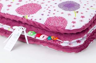 Obrázok Detská deka Púpava Minky 75x100 cm - rôzne farby a varianty
