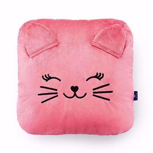 Obrázok Detský vankúšik Mačička - Ružová