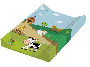 Obrázok Prebaľovacia podložka Funny Farm - tvrdá, kravička