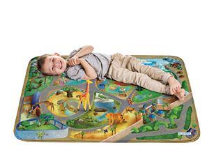 Obrázok Detský koberec na hranie Soft Zoo 100x150 cm