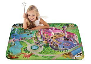 Obrázok Detský koberec na hranie Soft Zámok 100x150 cm