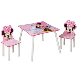 Obrázok Detský stôl s stoličkami Minnie Mouse