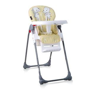 Obrázok Jedálenská stolička OLIVER Žltá - Hrošík