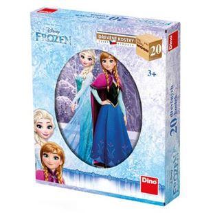 Obrázok Drevené kocky Frozen 20 ks