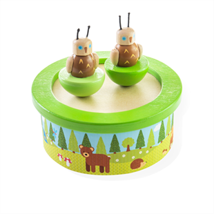 Obrázok Drevená hracia skrinka woodland