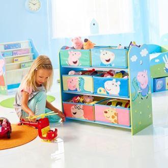 Obrázok z Organizér na hračky Peppa Pig