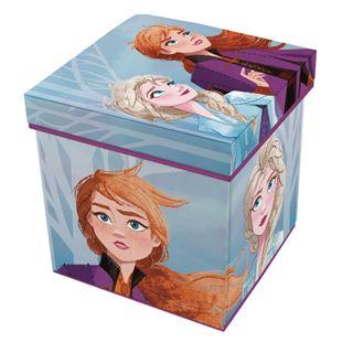 Obrázok Detský taburet s úložným priestorom Frozen