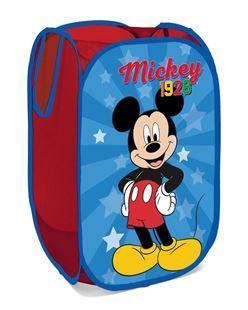 Obrázok Detský skladací kôš na hračky Mickey