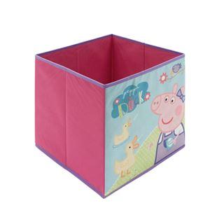 Obrázok Detský látkový úložný box Prasiatko Peppa