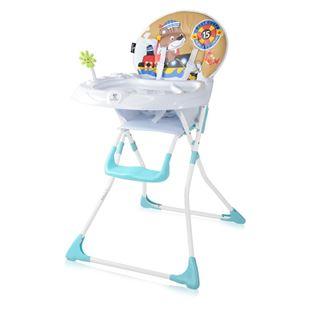Obrázok Jedálenská stolička JOLLY Modrá - Medvedík