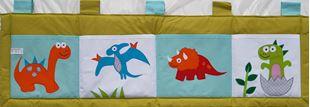 Obrázok Vreckár za posteľ 160x50cm - Dinosaury
