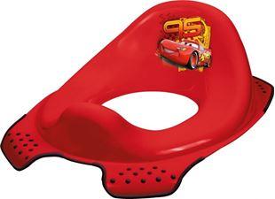 Obrázok Adaptér - tréningové sedátko na toaletu Cars - červený