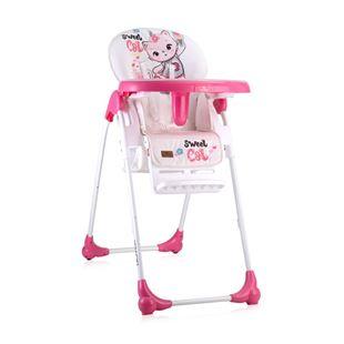 Obrázok Jedálenská stolička OLIVER Ružová Kočička