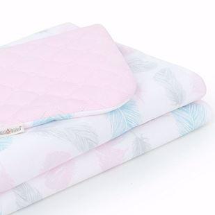 Obrázok Detská prešívaná deka Pierka Velvet LUX 75x100 cm - rôzne farby a varianty