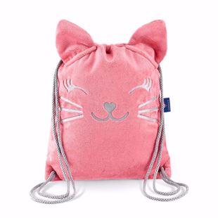 Obrázok Detský batôžtek Mačička - Ružová