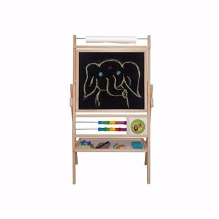 Obrázok Detská magnetická tabuľa 5v1 - výška 98 cm