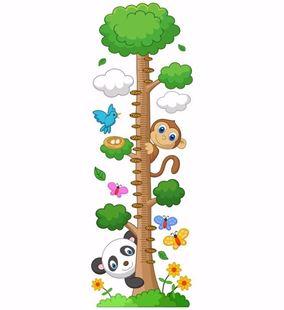 Obrázok Meter na stenu - Priatelia z lesa