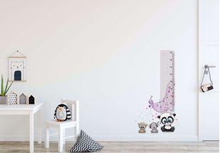 Obrázok Meter na stenu - Medvedíky a hudba
