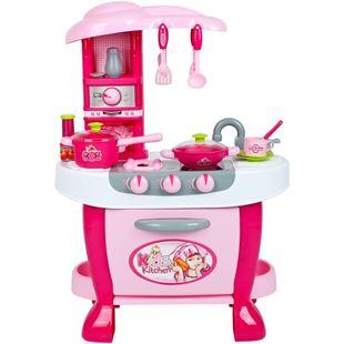 Obrázok Veľká detská kuchynka s dotykovým senzorom + príslušenstvo