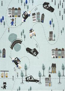 Obrázok Detský koberec Chyť ma ak môžeš - 140x140cm