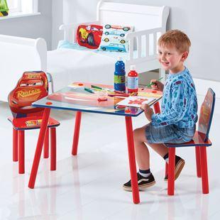Obrázok Detský stôl s stoličkami Cars