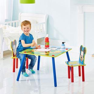 Obrázok Detský stôl s stoličkami Myšák Mickey