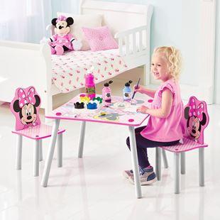 Obrázok Detský stôl s stoličkami Myška Minnie