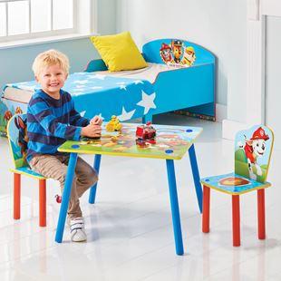 Obrázok Detský stôl s stoličkami Tlapková Patrola