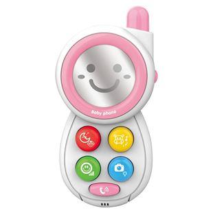 Obrázok Detský telefónik so zvukmi Ružová