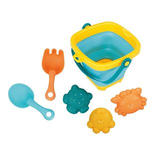Obrázok Skladacia kýblik a hračky do vody 5ks