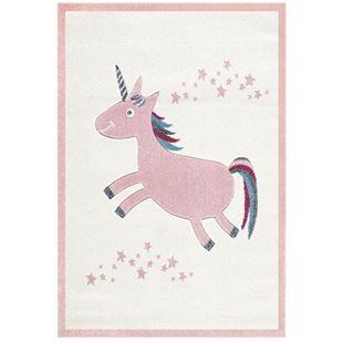 Obrázok Detský koberec Jednorožec - ružový 120x180 cm