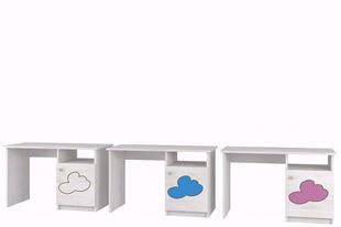 Obrázok Písací stôl Mráček BIELA