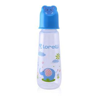Obrázok Dojčenská fľaša 250 ML Zvieratká Modrá
