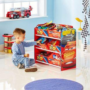 Obrázok Organizér na hračky Cars