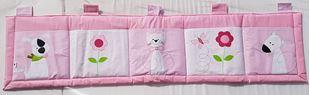 Obrázok Vreckár za posteľ veľký 200x50 cm - Mačička, psík, myš
