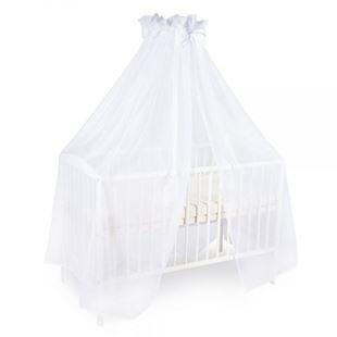 Obrázok Luxusné moskytiéra 200x400cm s mašličkou - biela