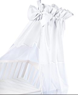 Obrázok Luxusné nebesia 200 x 150 cm s mašličkou - biela