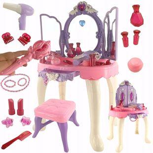 Obrázok Detský toaletný stolík s diaľkovým ovládaním - Fialová