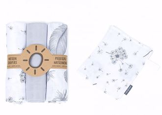 Obrázok z Mušelínové plienky 80x80 cm + žinka